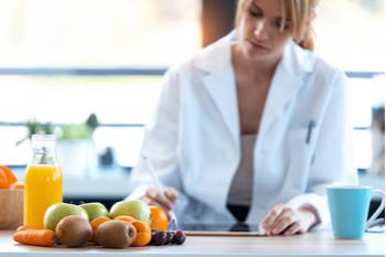 doctora especialista en nutrición