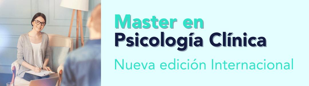 Master en psicología clínica