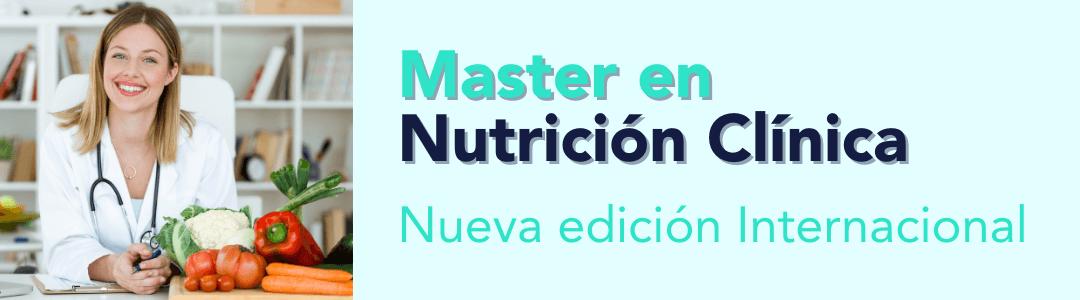 Master en nutrición clínica